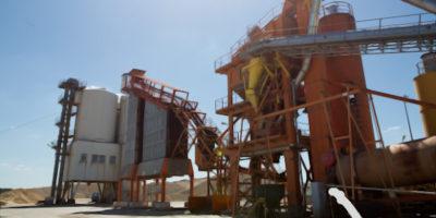 Asphaltmischwerk Zeithain ard Baustoffwerke