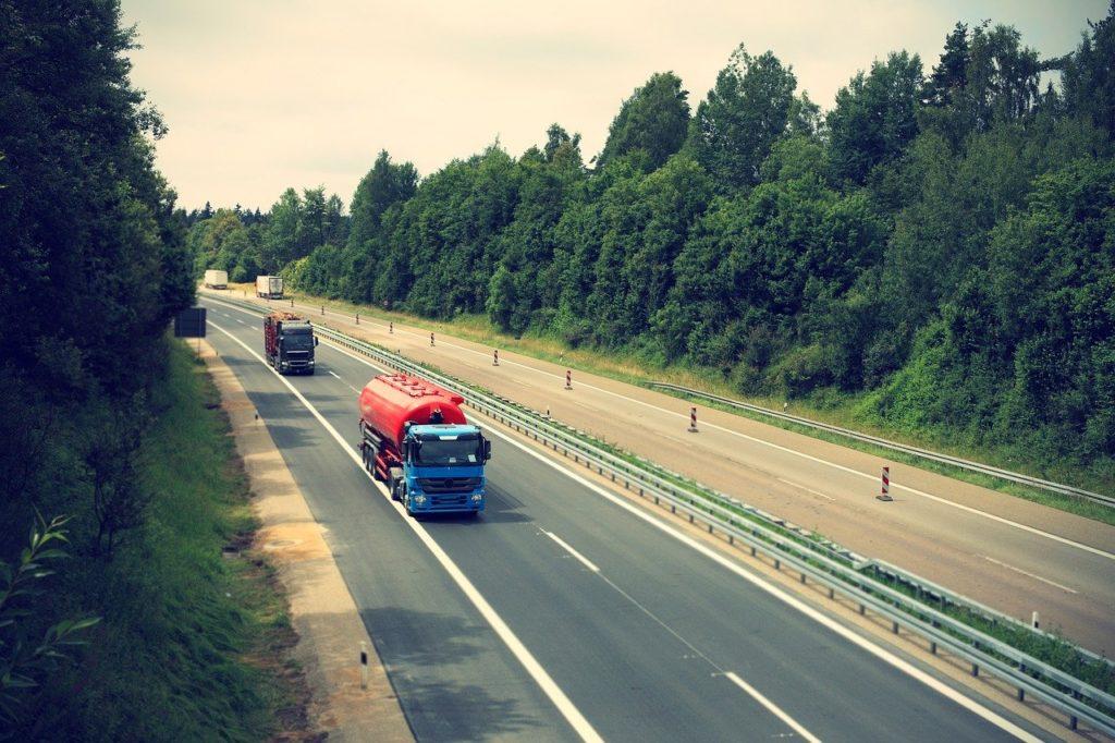 Straße Asphalt FBE Autobahn