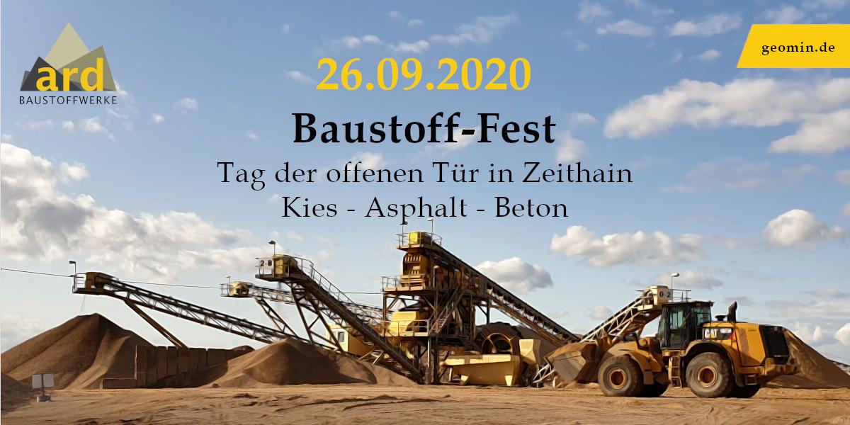 Bildschirmzeitung Baustofffest Zeithain