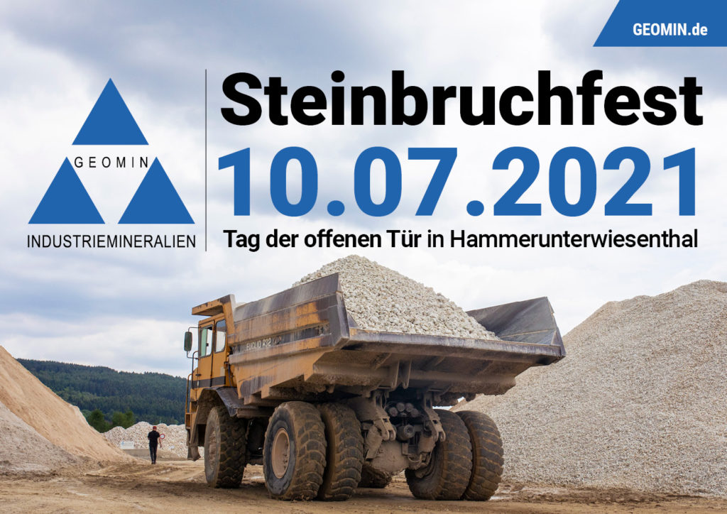 Flyer Steinbruchfest 2021 Hammerunterwiesenthal